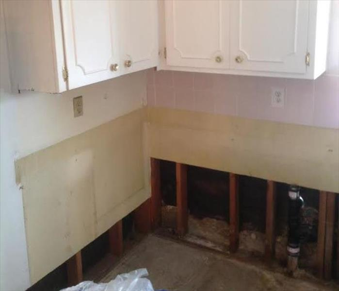 Water Damage (Residential) - Kitchen  Before