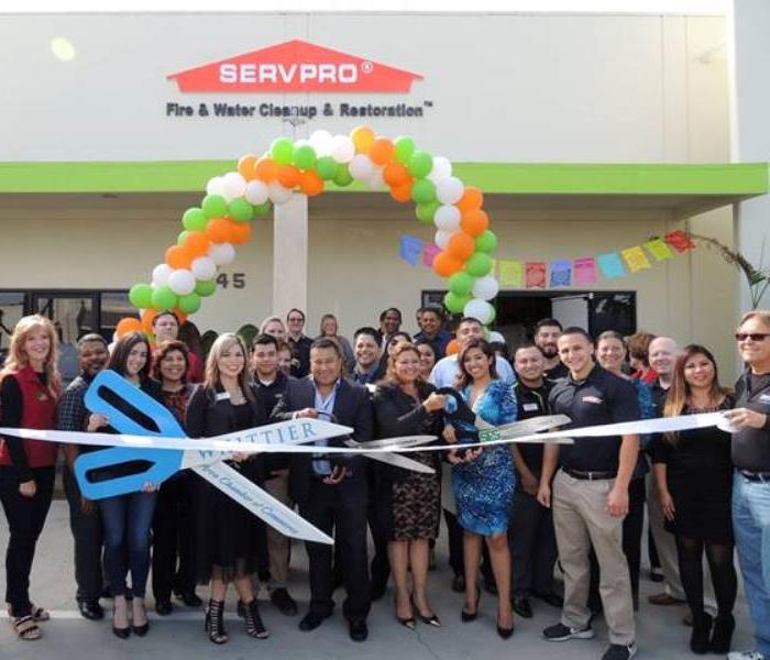 Community SERVPRO of La Habra/West Fullerton Ribbon Cutting Ceremony
